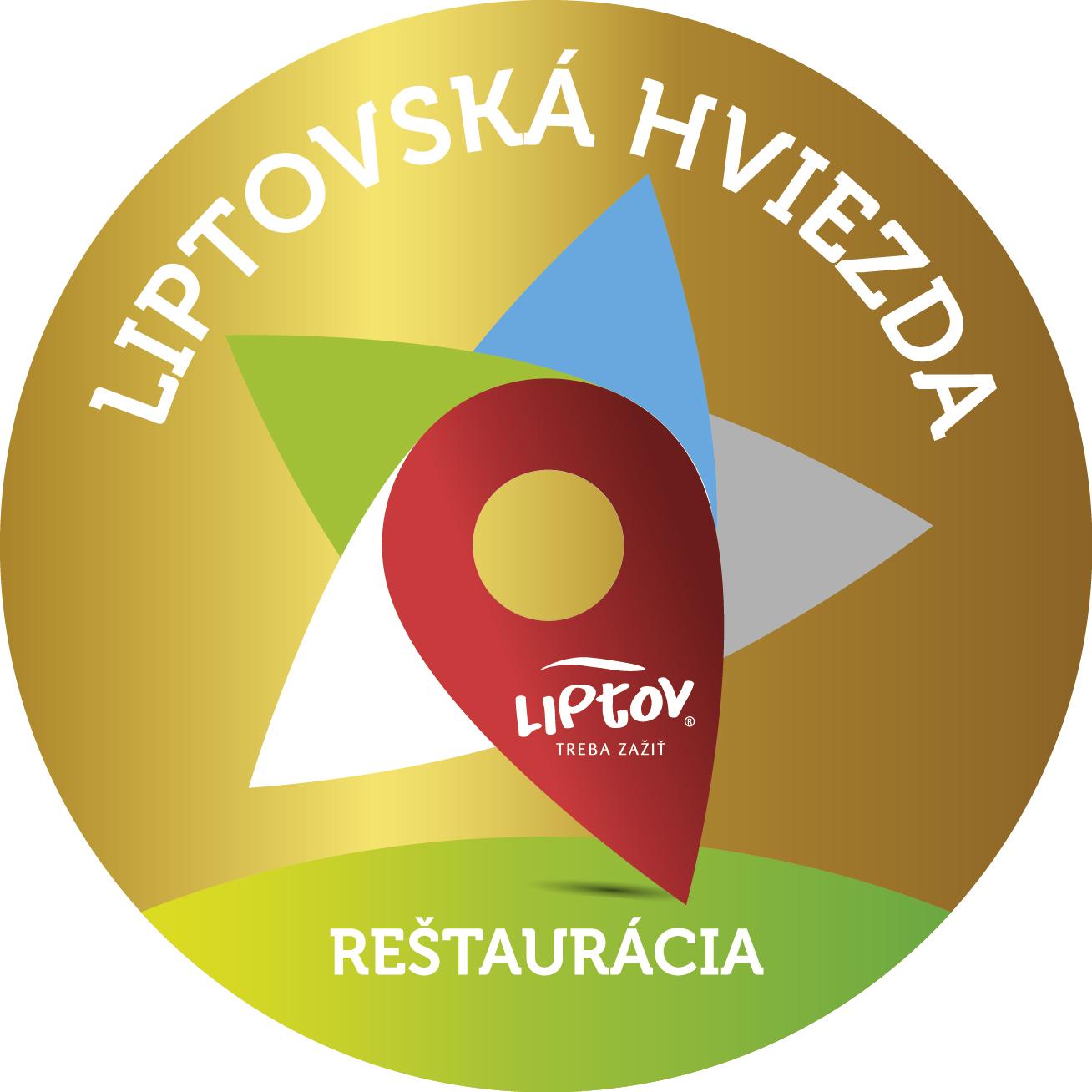 liptovska hviezda logo zlata restauracia