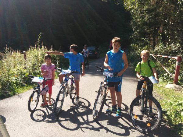 S deťmi na kolesách jánskou dolinou