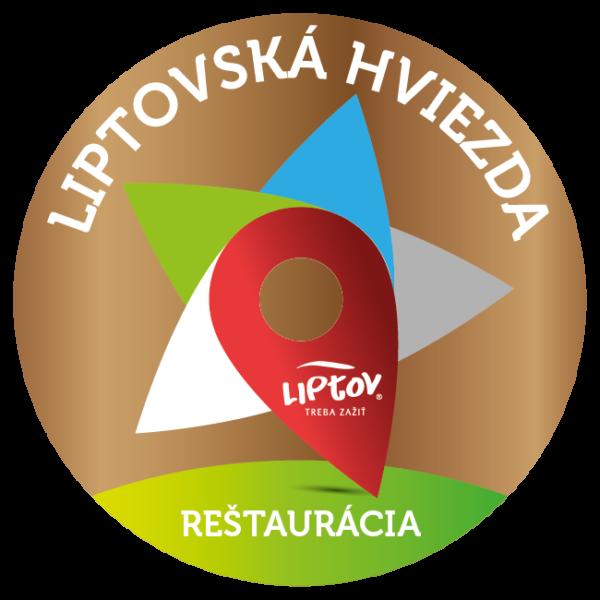 Bronzová Liptovská hviezda 2018 - reštaurácia
