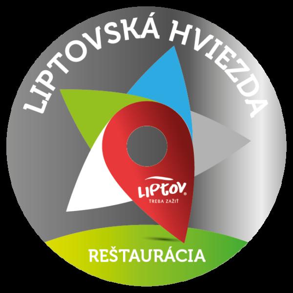 Strieborná Liptovská hviezda 2018 - reštaurácia