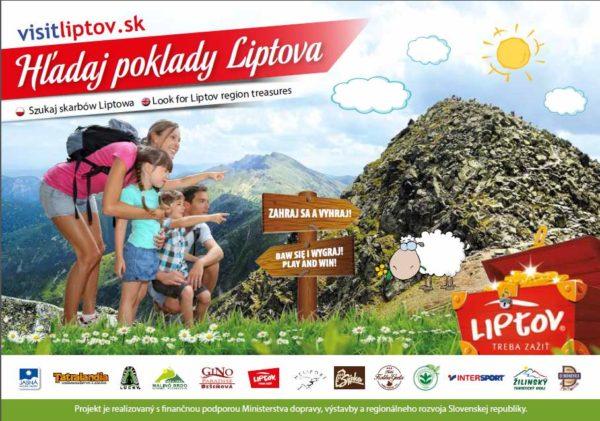 Poklady Liptova – letná hra pre celú rodinu