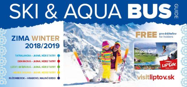 Grafikon SKI & AQUA Bus 2018 – 2019