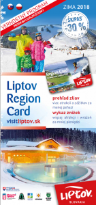 Prehľad zliav s Liptov Region Card – ZIMA 2017/2018