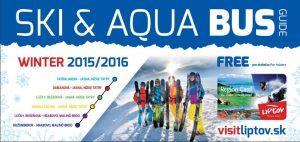 Grafikon SKI & AQUA Bus-u 2015 – 2016