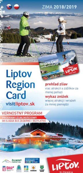 Przewodnik po Liptowe Liptov Region Card ZIMA 2018/2019 SK – PL
