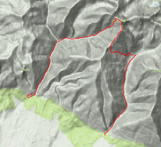 Jalovecká dolina - Baníkov - Žiarska dolina