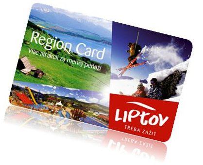CZYM JEST LIPTOV REGION CARD?