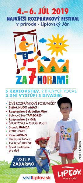 Najväčší rozprávkový festival v prírode – ZA 7 HORAMi