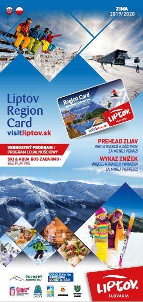 Przewodnik po Liptowe Liptov Region Card ZIMA 2019/2020 SK – PL