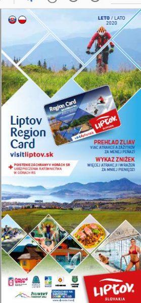 Zniżki z Liptov Region Card – LETO  2020